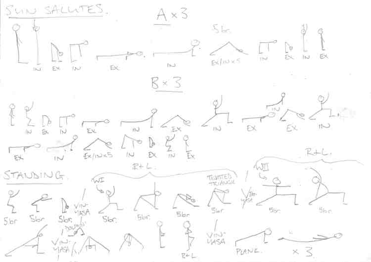 YOGALEN 60 MINUTE SEQUENCE PAGE 2